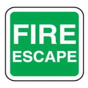 Safe Safety Sign - Fire Escape 096